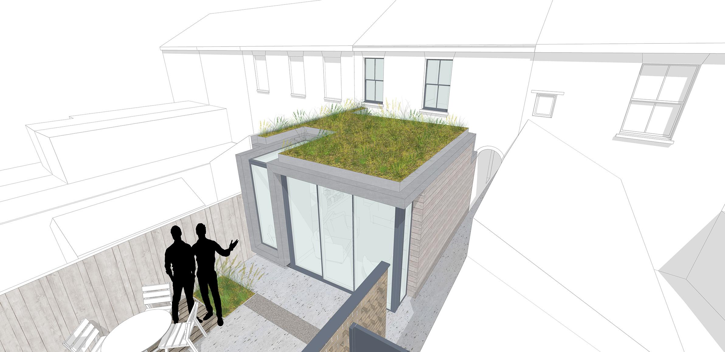 Planning scheme - aerial view