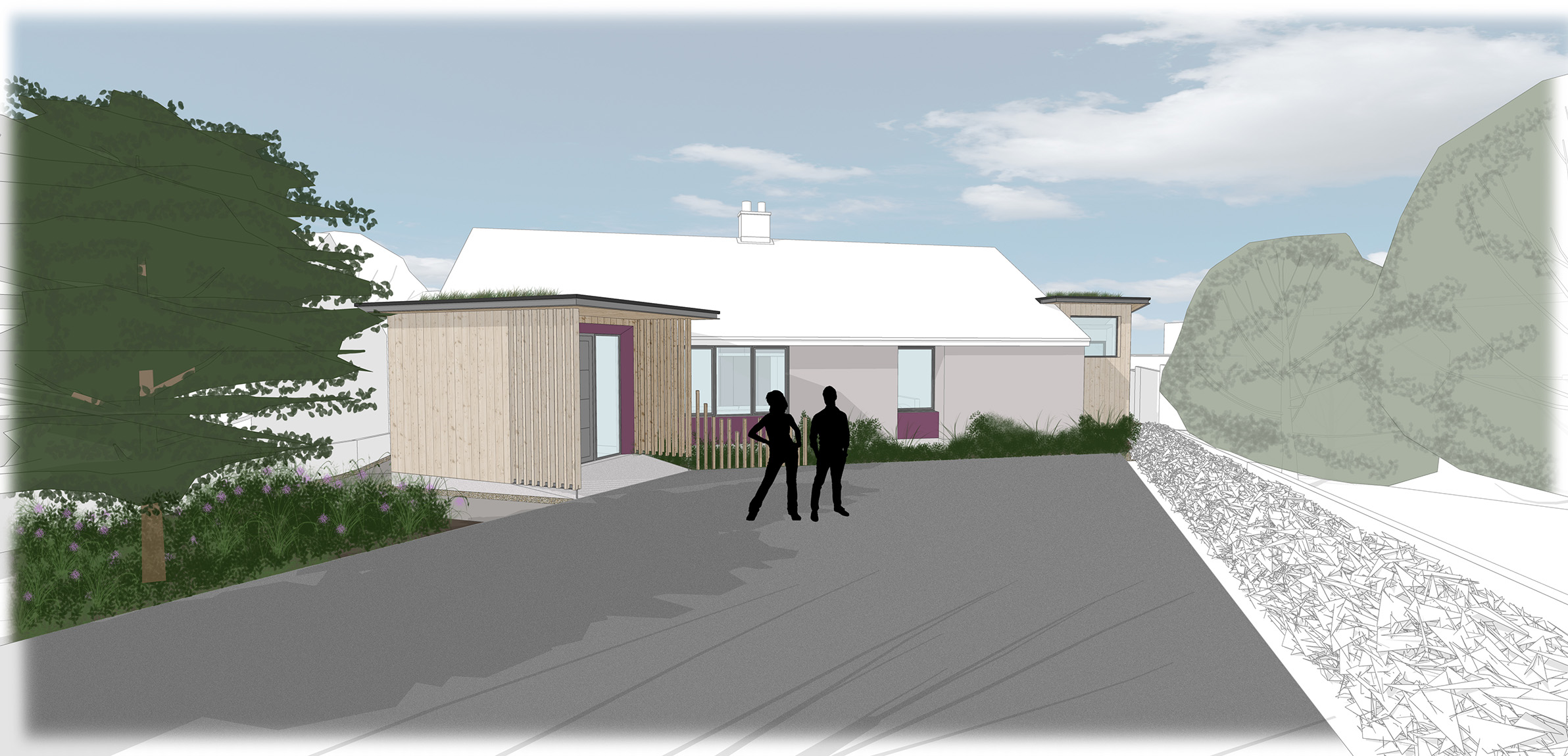 Feasibility Study 1 - Front view