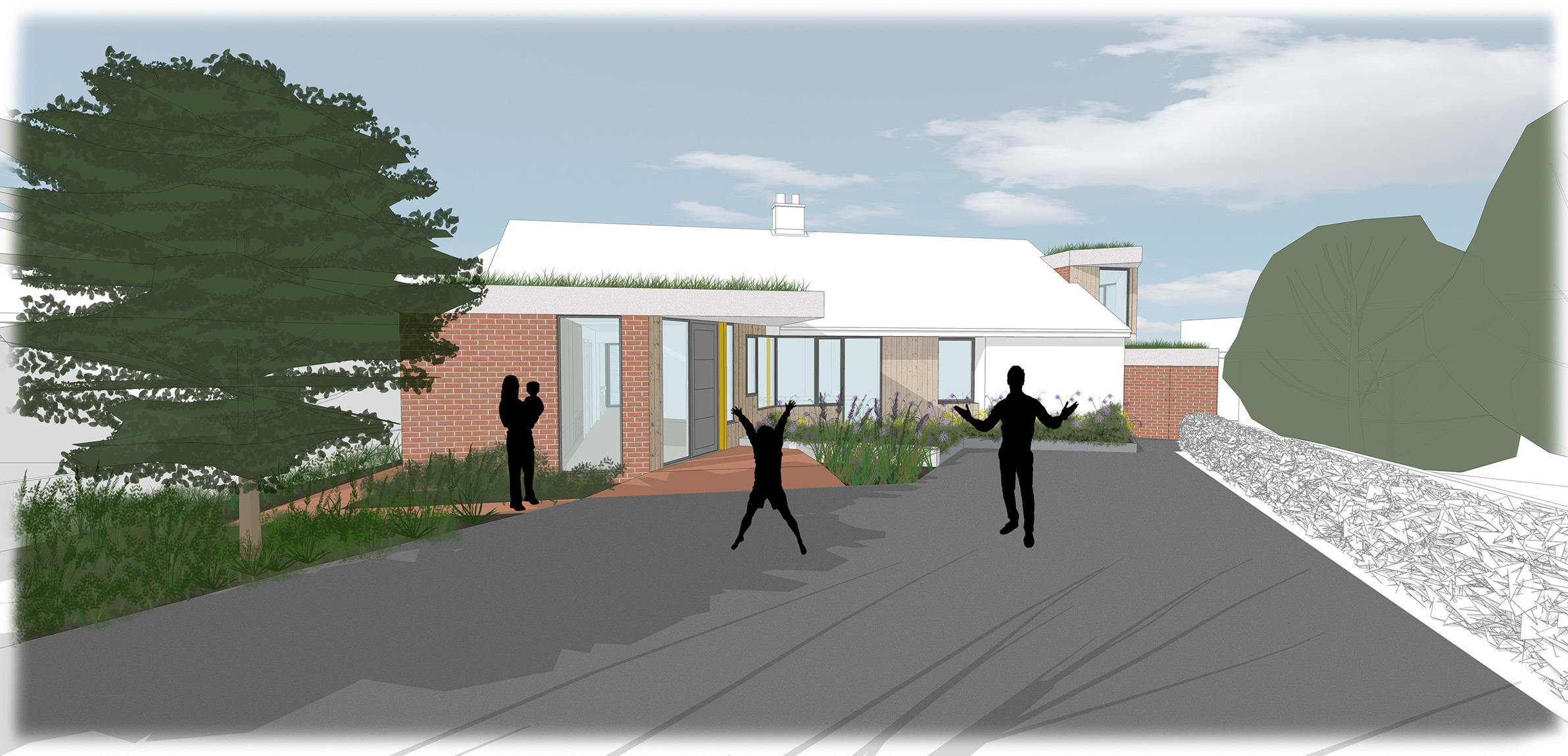 Feasibility Study 2 - Front view