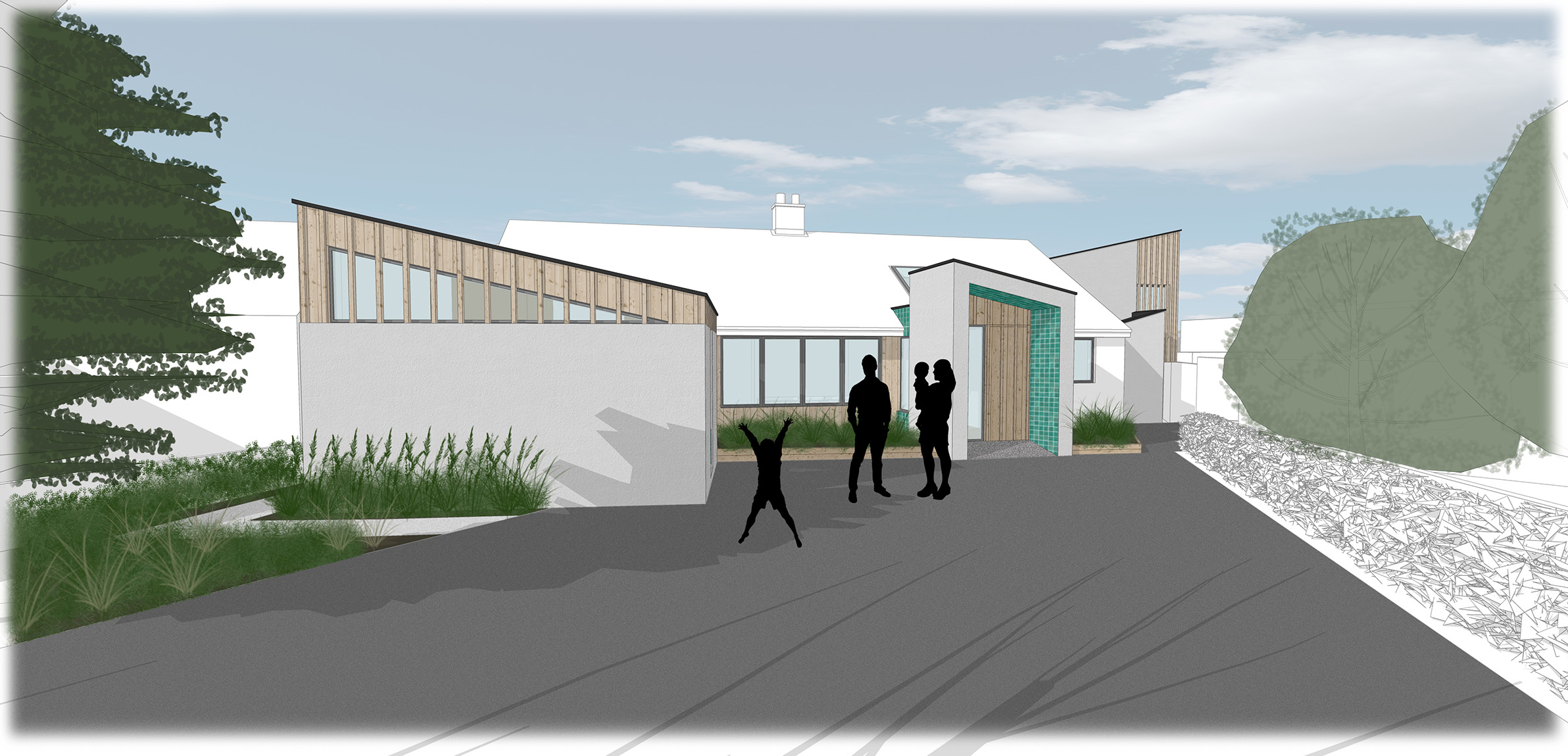 Feasibility Study 3 - Front view